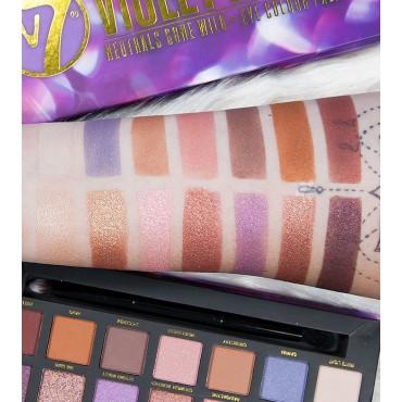 W7 - Paleta de sombras Violet Lights