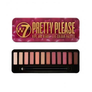 W7 - Paleta de sombras de ojos Pretty Please