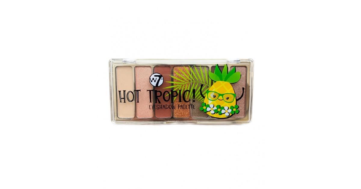 W7 - Paleta de sombras Hot Tropic!