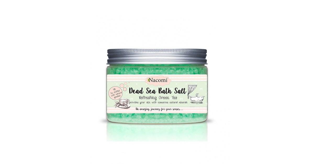 Nacomi - Sales de Baño del Mar Muerto - Refreshing Green Tea