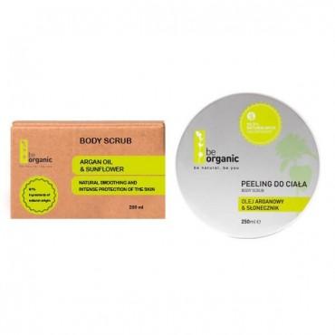 Be Organic - Exfoliante Corporal - Girasol & Aceite de Argán