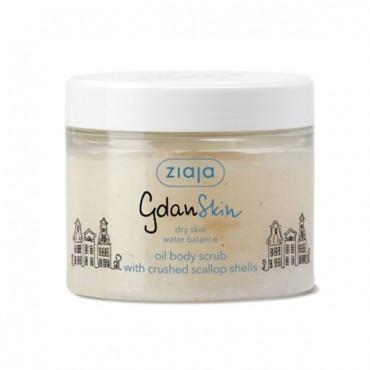 Ziaja - GDANSKIN - Exfoliante corporal de Aceite con Conchas de Viera molidas