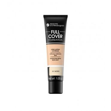 Bell - Base de maquillaje hipoalergénica Full Cover - 01: Ivory