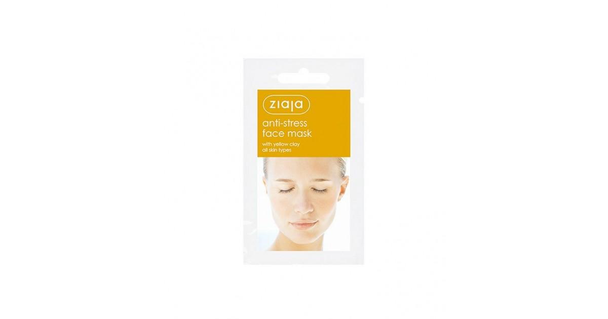 Ziaja - Mascarilla Facial Anti-estrés - Arcilla Amarilla