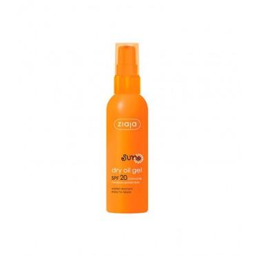 Ziaja - Gel Protector Solar de Aceite Seco - SPF20