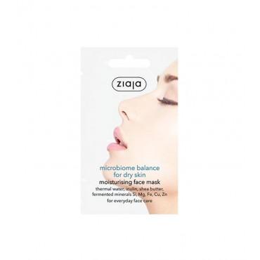 Ziaja - Mascarilla facial microbioma - Hidratante para pieles secas