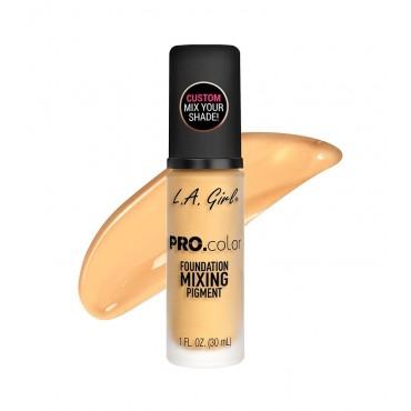 L.A. Girl - Mezclador para base de Maquillaje PRO.color - GLM712 Yellow