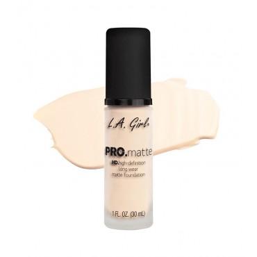 L.A. Girl - Base de Maquillaje Fluida PRO Matte - GLM715: Porcelain