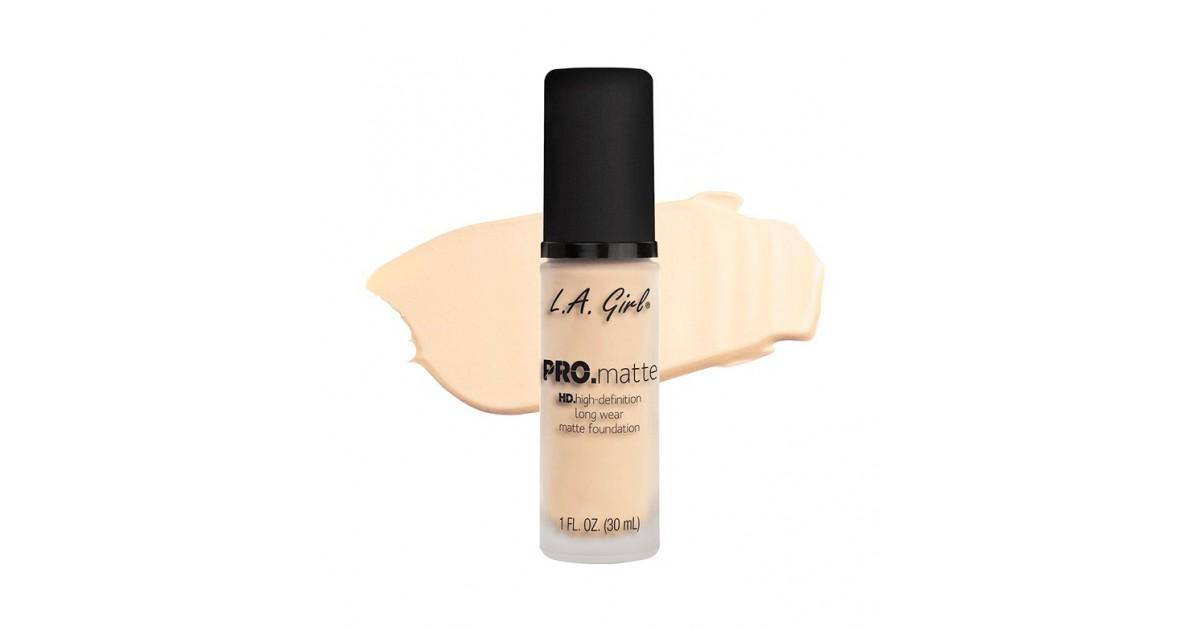 L.A. Girl - Base de Maquillaje Fluida PRO Matte - GLM716: Nude