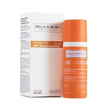 Bella Aurora - Gel Crema solar anti-manchas SPF50 Piel Mixta a Grasa - 50ml