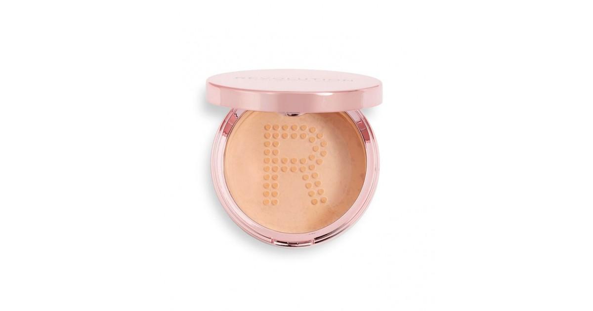 Revolution - Polvos sueltos fijadores Conceal & Fix - Medium Pink