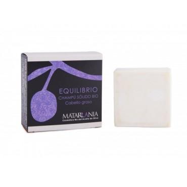 Matarrania - 100% Bio - Champu Solido - Cabello Graso