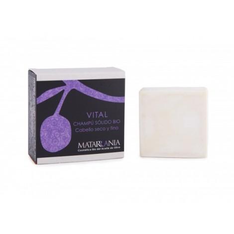 Matarrania - 100% Bio - Champu Solido - Seco y Fino