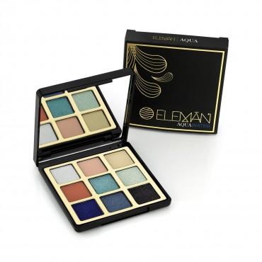 Eleman Beauty - Paleta de Sombras - Aqua