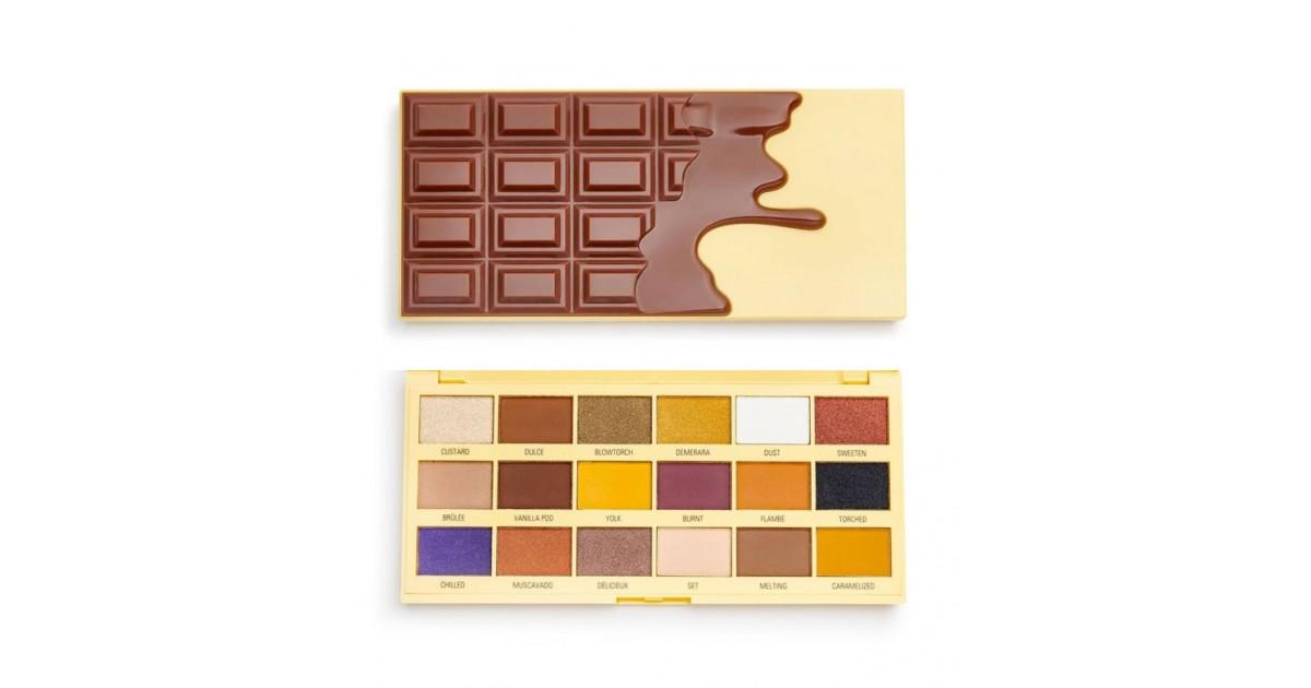 I Heart Revolution - Paleta de sombras Chocolate - Crème Brulée