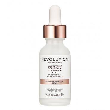 Revolution Skincare - Sérum para el contorno de ojos - 5% Cafeína + Ácido hialurónico