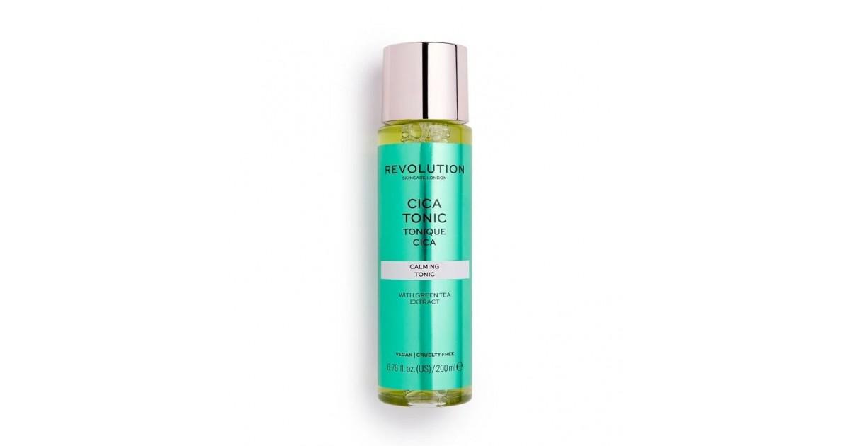 Revolution Skincare - Tónico calmante con Cica y té verde