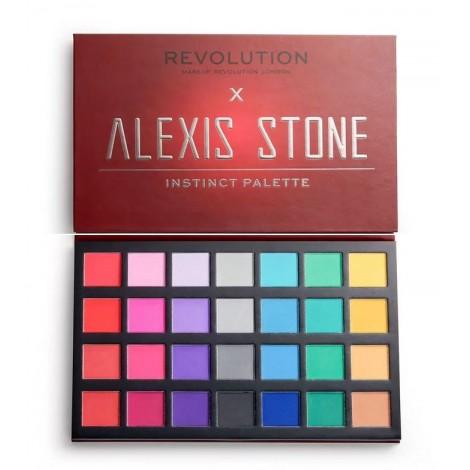 Revolution - Paleta de sombras x Alexis Stone - Instinct Palette