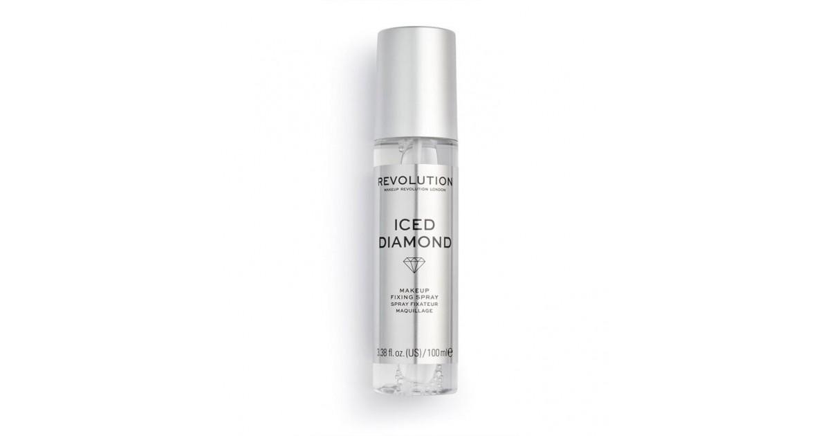 Revolution - *Precious Stone* - Spray fijador de maquillaje - Iced Diamond