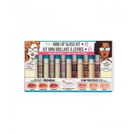 The Balm - Set de Brillos de labios Mini Lip Gloss Kit Vol. 2