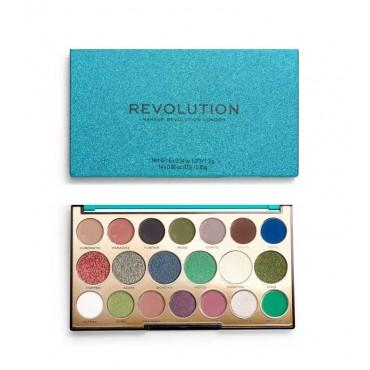 Revolution - *Precious Stone* - Paleta de sombras - Emerald