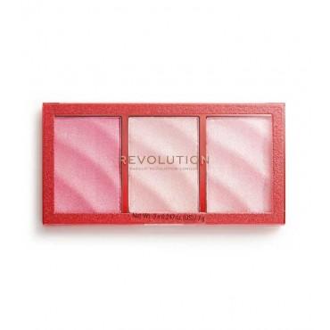 Revolution - *Precious Stone* - Paleta de iluminadores - Ruby Crush