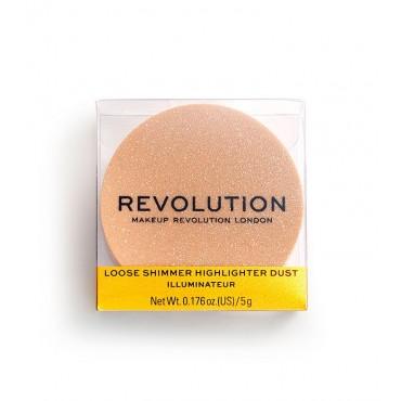 Revolution - *Precious Stone* - Iluminador en polvo metalizado - Rose Quartz