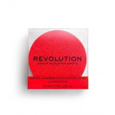 Revolution - *Precious Stone* - Iluminador en polvo metalizado - Ruby Crush