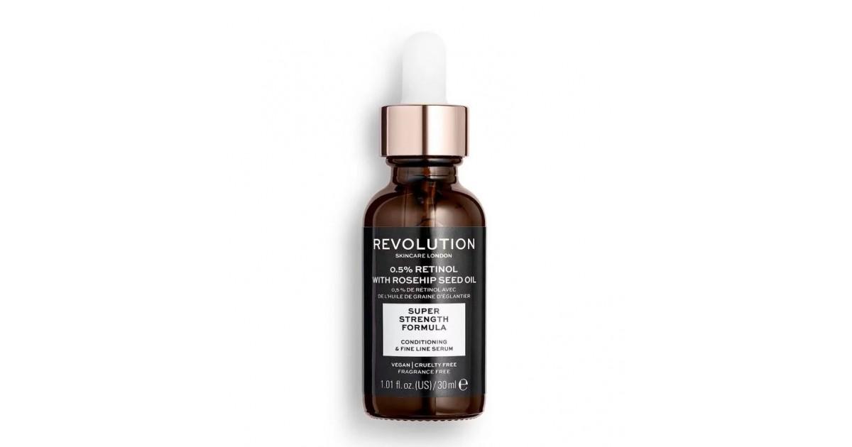 Revolution Skincare - Sérum 0,5% Retinol con aceite de semilla de rosa mosqueta