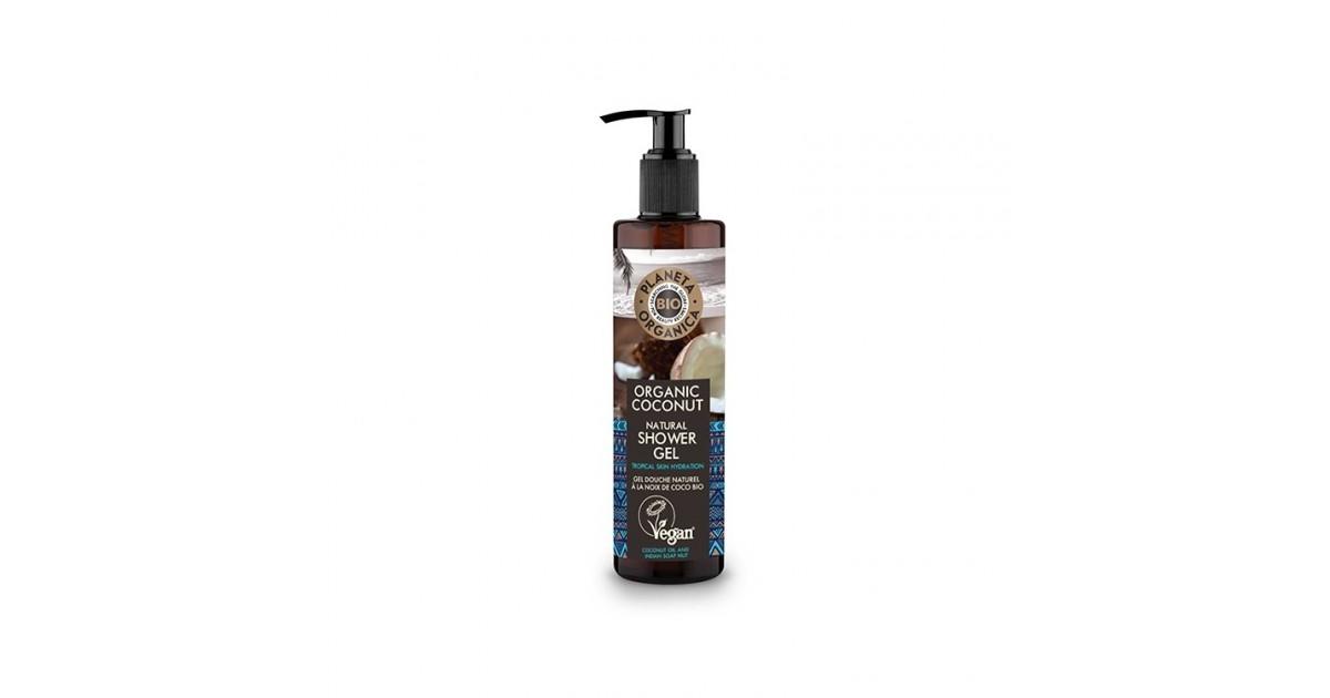 Planeta Organica - Hidratación - Gel de Ducha Natural Coco