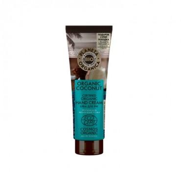 Planeta Organica - Hidratación y Suavidad - Crema de Manos Coco Tropical