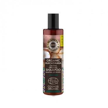 Planeta Organica - Super Brillo - Champú Natural Macadamia