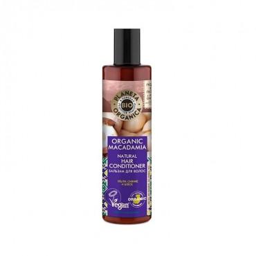 Planeta Organica - Brillo y Resplandor - Acondicionador Natural Macadamia