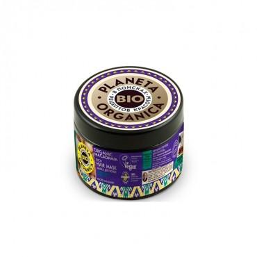 Planeta Organica - Nutrición y Suavidad - Mascarilla Natural de Macadamia