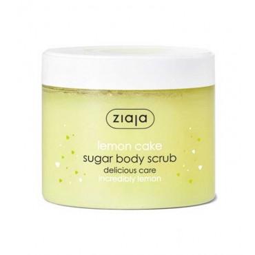 Ziaja - Exfoliante Corporal de azúcar Lemon Cake