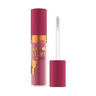 Bell - Labial líquido Mate Mat & soft Lips - 03: Precious Saffron