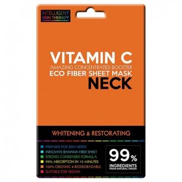 Beauty Face - Máscara para Cuello de fibras Eco - Vitamina C
