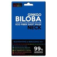 Beauty Face - Máscara para Cuello de Fibras Eco - Gingko Biloba