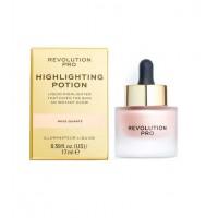 Revolution Pro - Iluminador líquido Highlighting Potion - Rose Quartz