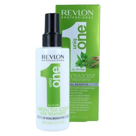 Revlon - Tratamiento cabello todo en uno UniqOne 150ml - Green Tea