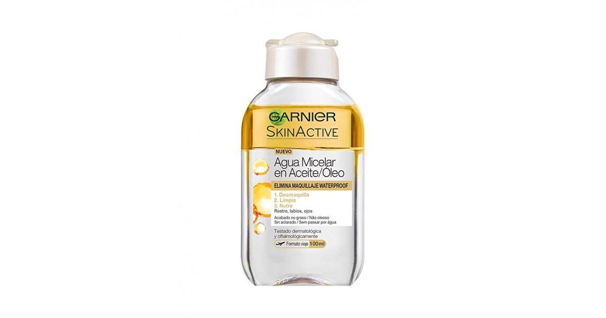 Garnier - SKINACTIVE - Agua Micelar en aceite waterproof - 100 ml