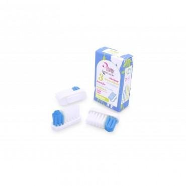 Lamazuna - Recambio de cabezal cepillo de dientes x3 - Medio