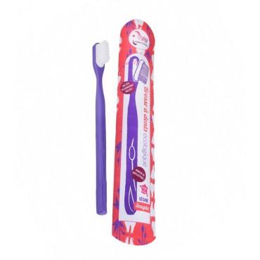 Lamazuna - Cepillo de dientes recargable morado - Medium