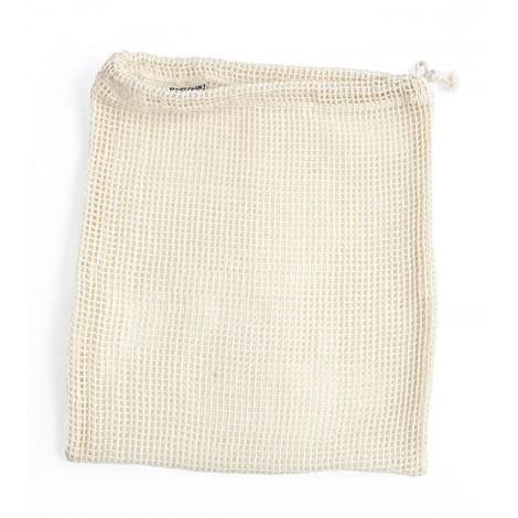 Turtle Bags - Bolsa de Algodón Ecológico para Granel de Red - Grande
