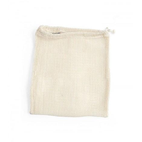 Turtle Bags - Bolsa de Algodón Ecológico para Granel de Red - Mediano