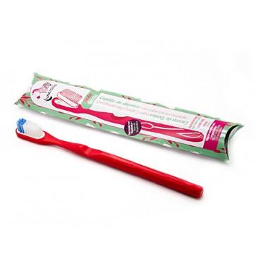 Lamazuna - Cepillo de dientes recargable Rojo - Medio