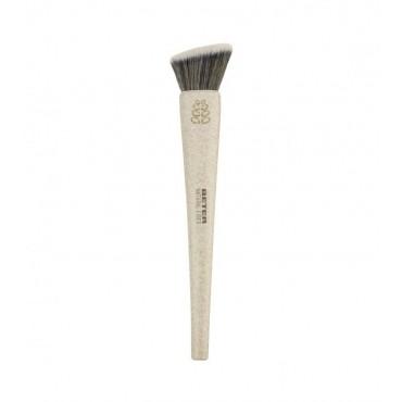 Beter - *Natural Fiber* - Brocha angulada para maquillaje fluido