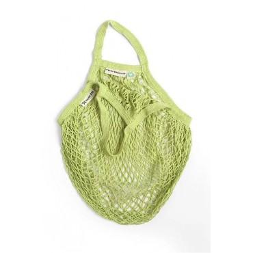 Turtle Bags - Bolsa de Algodón Ecológico de Red con Asa Corta - Lima