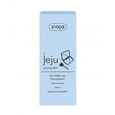 Ziaja - Base de maquillaje no makeup Jeju Young Skin - Tono natural