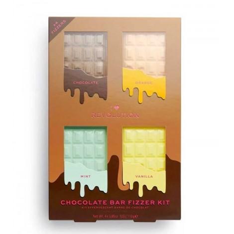 I Heart Revolution - Set de bombas de baño Chocolate Bar Fizzer Kit